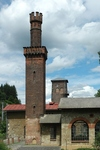 Klam forge - the smokestack inside this tower is nothing but expected. One of the true rarities.